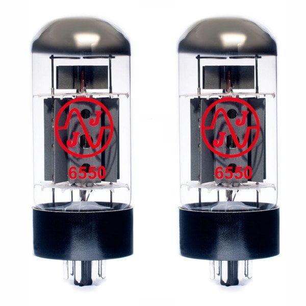 2 X 6550 Appairée Lampe De Puissance (tubes)