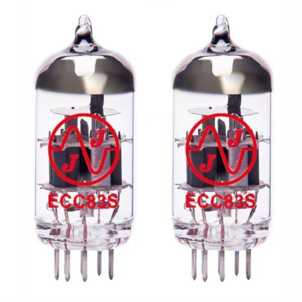 2 X Ecc83 (12ax7) Lampes Tubes