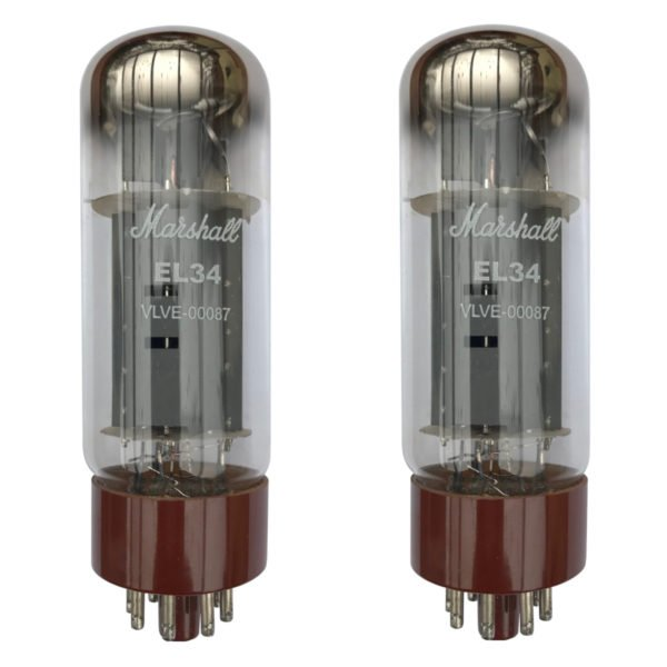 2 x EL34 Marshall Appairée Lampe de puissance (Tubes)