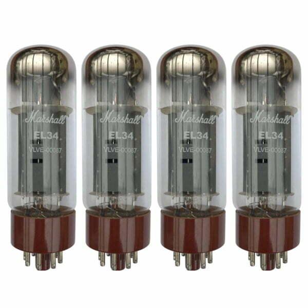 4 x EL34 Marshall Appairée Lampe de puissance (Tubes)