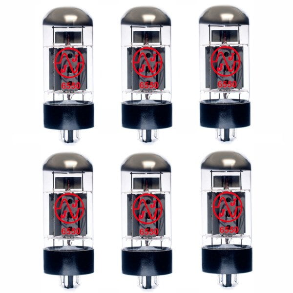 6 X 6550 Appairée Lampe De Puissance (tubes)