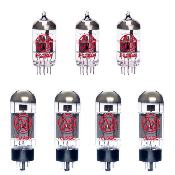 Jeu de lampes de rechange pour Ampeg B-15R Portaflex Bass (3 x 12AX7 4 x 6L6GC appairée)