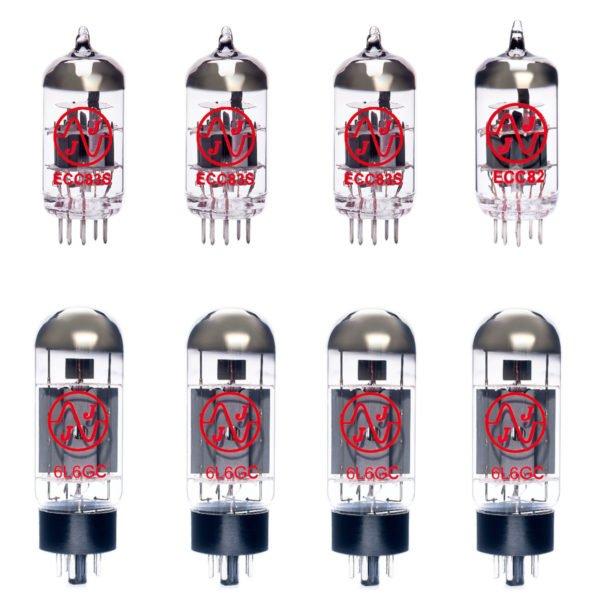 Jeu de lampes de rechange pour Ampeg V4BH (3 x 12AX7 1 x 12AU7 4 x 6L6GC appairée)