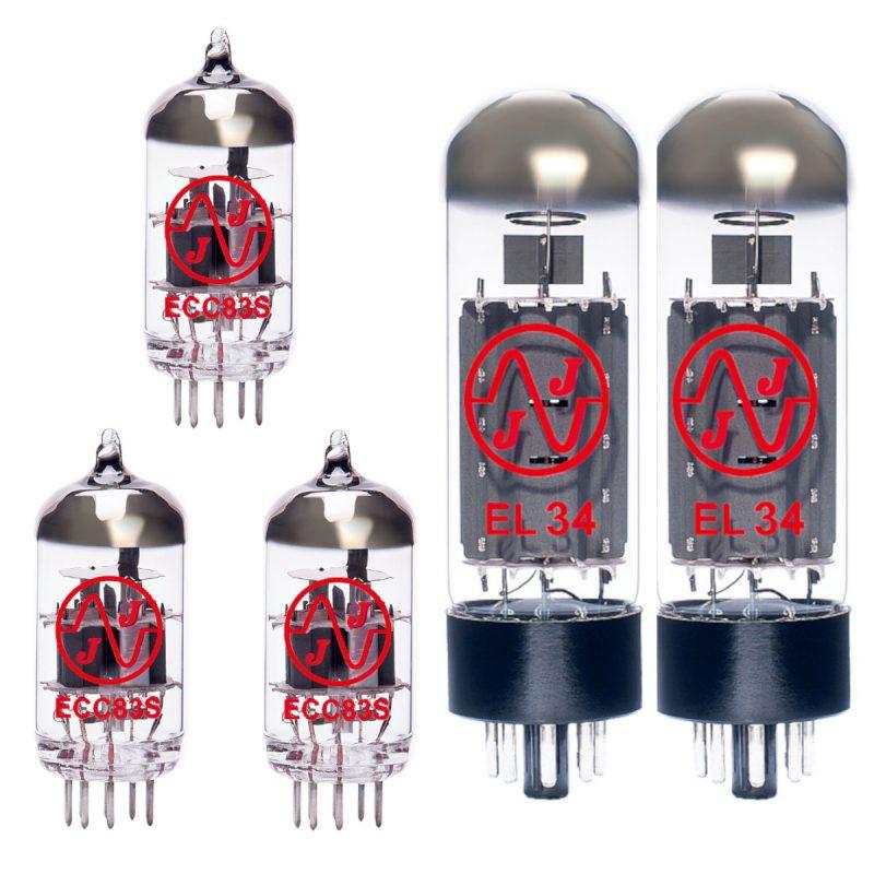 Jeu de lampes de rechange pour Fender Bassbreaker 45 (2 x ECC83 1 x équilibrées ECC83 2 x Appairée EL34)