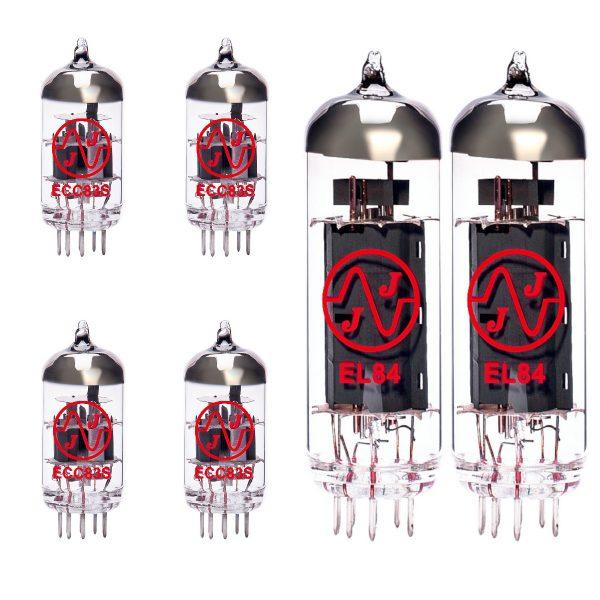 Jeu de lampes de rechange pour Marshall JCM2000 DSL201 (3 x ECC83 1 x équilibrées ECC83 2 x appairée EL84)