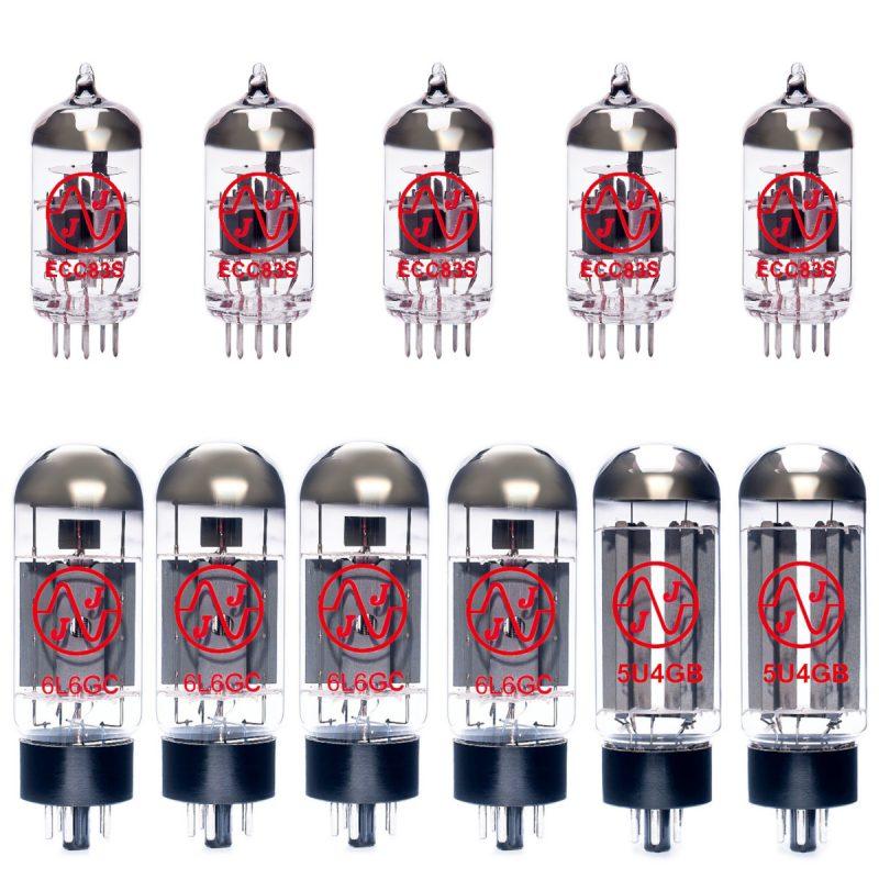 Jeu de lampes de rechange pour Mesa Boogie Dual Rectifier (5 x JJ ECC83 2 x JJ 5U4GB 4 x Appairée JJ 6L6GB)