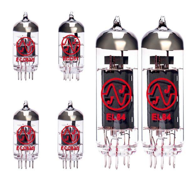 Jeu de lampes de rechange pour Orange Dark Terror (3 x 12AX7 1 x 12AT7 2 x EL84 appairées)