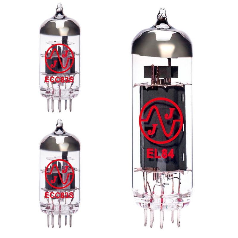 jeu de lampes de rechange pour vox ac4c1 (1 x ecc83 1 x équilibrées ecc83 1 x el84 )