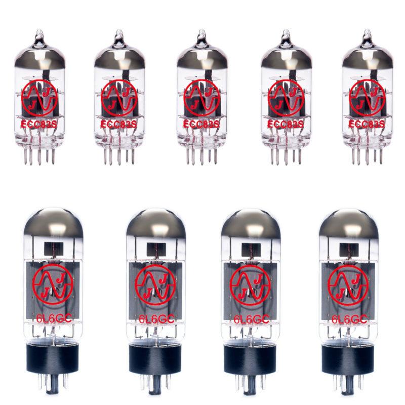 Jeu de lampes de rechange pour Peavey 5150 (4 x ECC83 1 x équilibrées ECC83 4 x Appairée 6L6GC)