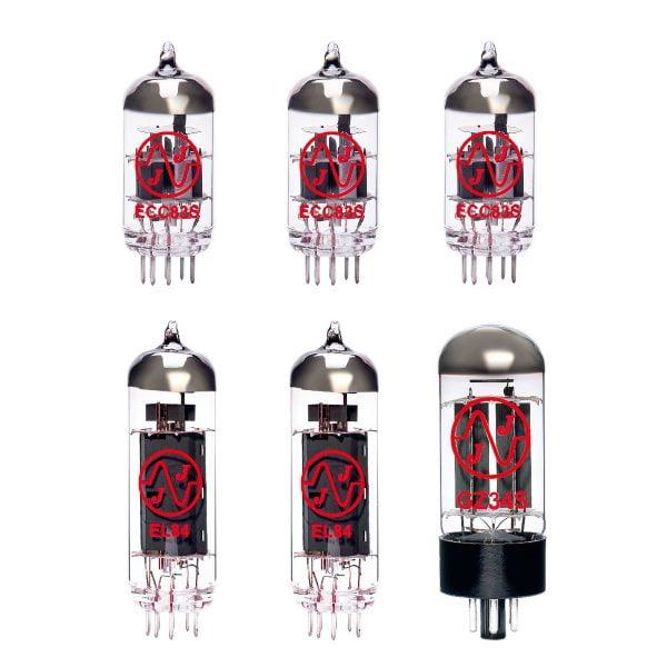 Jeu de lampes de rechange pour Matchless Spitfire (3 x 12AX7 1 x GZ34 2 x EL84 appairées)