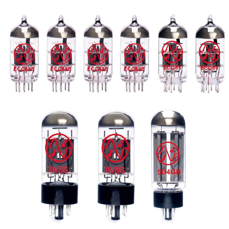 Jeu de lampes de rechange pour Fender 70s Deluxe Reverb