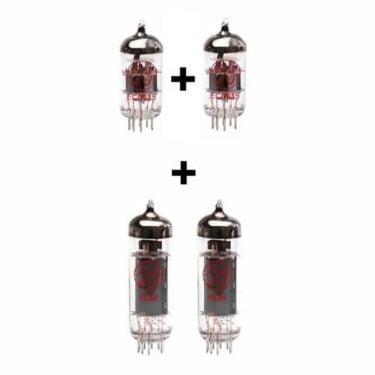Jeu De Lampes De Rechange Pour Vox Ac10c1 (1 X Ecc83 1 X équilibrées Ecc83 2 X Appairée El84)