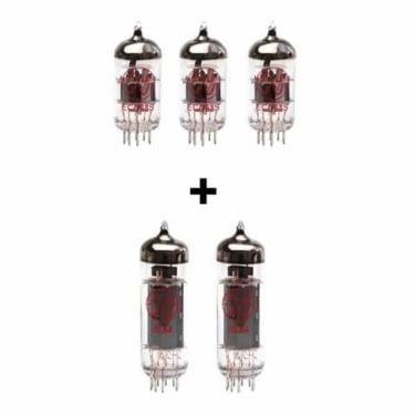 Jeu De Lampes De Rechange Pour Vox Nt15h G2 (3 X Ecc83 2 X Appairée El84)