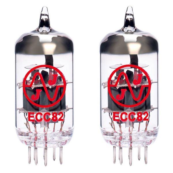 2 x ECC82 (12AU7) équilibrées Lampes / Tubes