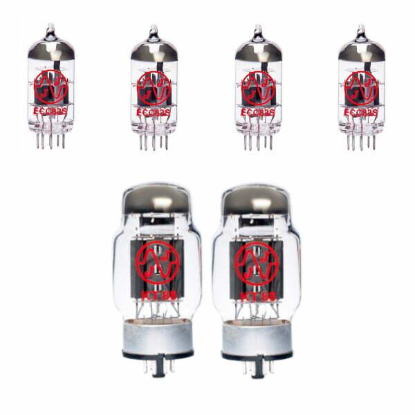 Jeu De Lampes De Rechange Pour Egnater Tweaker 88 (3 X Ecc83 1 X équilibrées Ecc83 2 X Appairée Kt88)