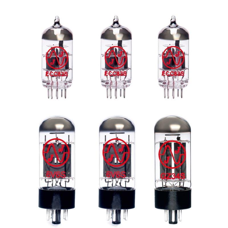 Jeu De Lampes De Rechange Pour Swart Atomic Space Tone (3 X Ecc83 2 X Appairée 6v6s 1 X Gz34)