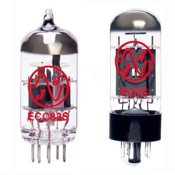 Jeu De Lampes De Rechange Pour Harley Benton Tube 5 (1 X Ecc83 1 X 6v6s)