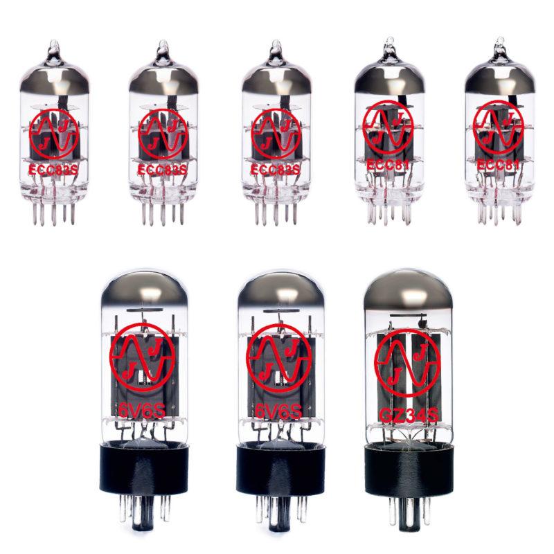 Jeu de JJ lampes de rechange pour Fender 64 Custom Deluxe Reverb