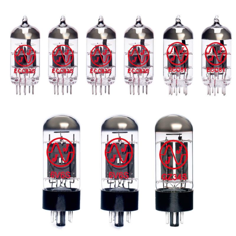 Jeu de JJ lampes de rechange pour Fender 68 Custom Deluxe Reverb Reissue