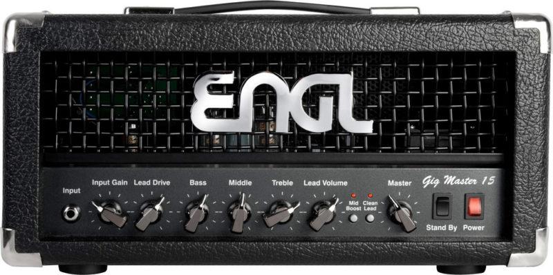 Jeu de JJ lampes de rechange pour ENGL Gigmaster 15 E315 Head