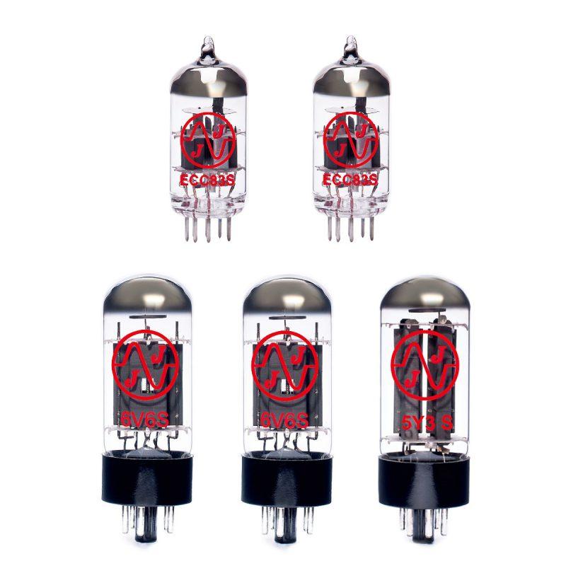 Jeu de lampes de rechange pour Fender 57 Deluxe (1 x ECC83 1 x équilibrées ECC83 1 x 5Y3S 2 x appairée 6V6S)