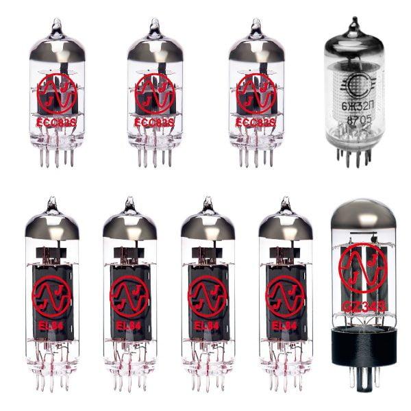 Jeu de lampes de rechange pour Vox AC30 H2 (1 x EF86 2 x ECC83 1 x équilibrées ECC83 1 x GZ34 4 x appairée EL84)