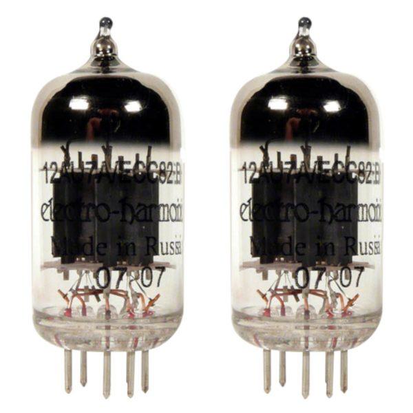 2 x équilibrées ecc82 (12au7eh) lampe tube electro harmonix
