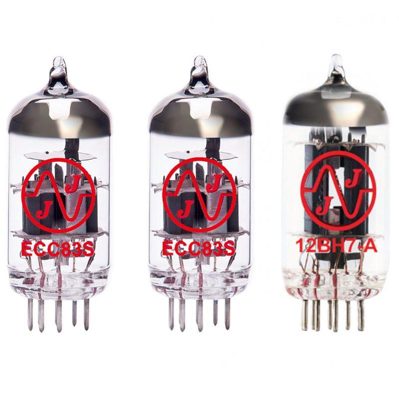 Jeu de lampes de rechange pour Marshall DSL5R (2 x ECC83 1 x 12BH7A)