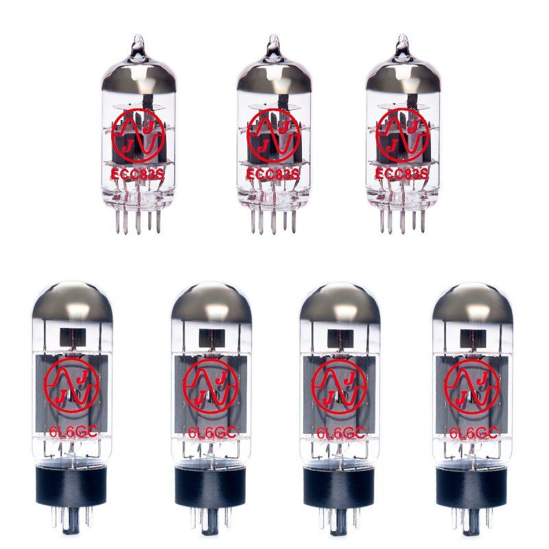 Jeu de lampes de rechange pour Peavey Classic 60/60 (3 x ECC83 4 x appairée 6L6GC)