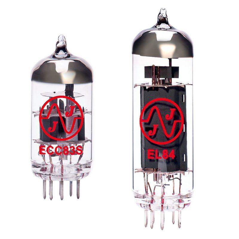 Jeu de lampes de rechange pour Peavey ValveKing Royal 8 (1 x ECC83 1 x EL84)