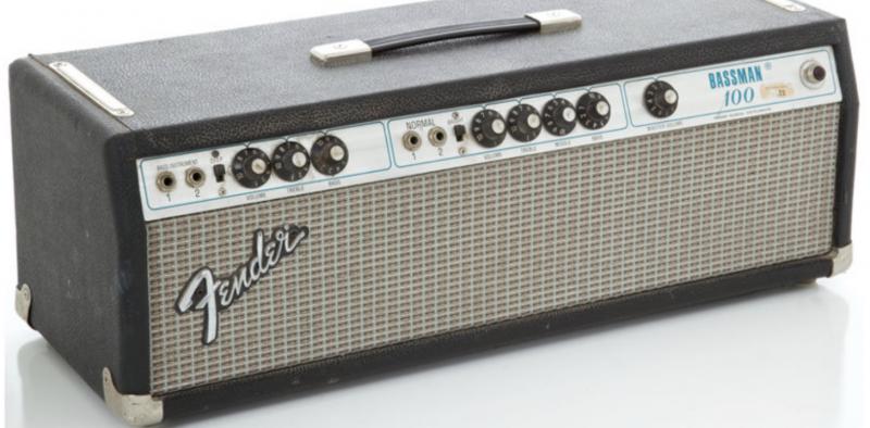 Kit lampes de retubage pour Fender Bassman 100