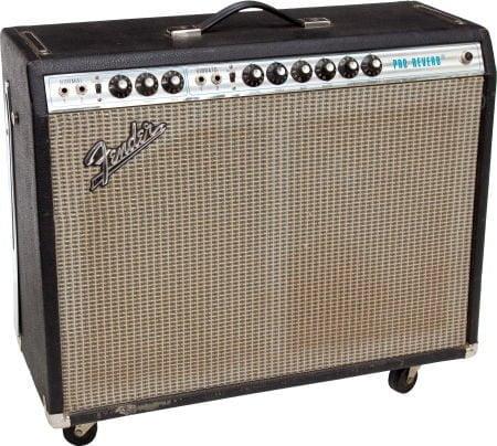Kit lampes de retubage pour Fender Pro Reverb 1974-1982