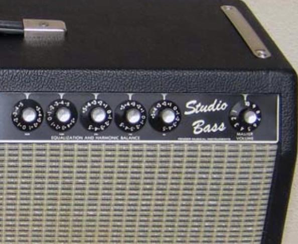 Kit lampes de retubage pour Fender Studio Bass