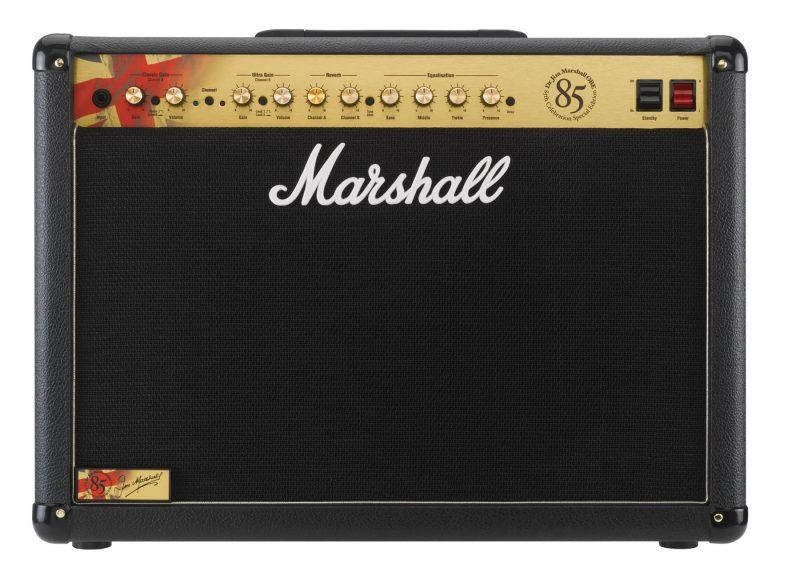 Jeu de Marshall lampes de rechange pour Marshall 1923 85th Anniversary (3 x JJ ECC83 1 x JJ équilibrées ECC83 2 x Marshall appairée EL34)
