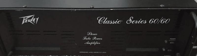 Kit lampes de retubage pour Peavey Classic 6060