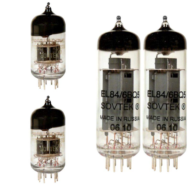 Sovtek Jeu de lampes de rechange pour Fender Pro Junior (1 x Sovtek ECC83 1 x Sovtek équilibrées ECC83 2 x Sovtek appairée EL84)