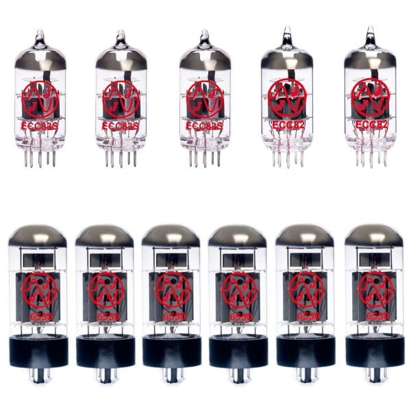 Jeu de lampes de rechange pour Ampeg SVT-CL (2 x ECC83 1 x équilibrées ECC83 2 x ECC82 6 x appairée 6550)